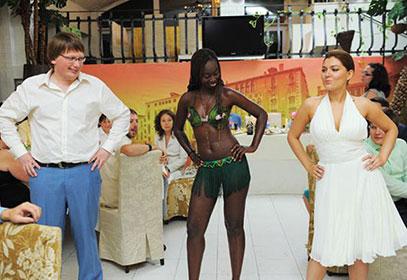 Афро-шоу, заказать чернокожих артистов на Свадьбу!