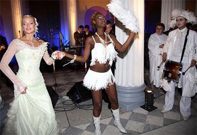 Афро-шоу на свадьбу, африканское шоу, бразильское шоу заказать